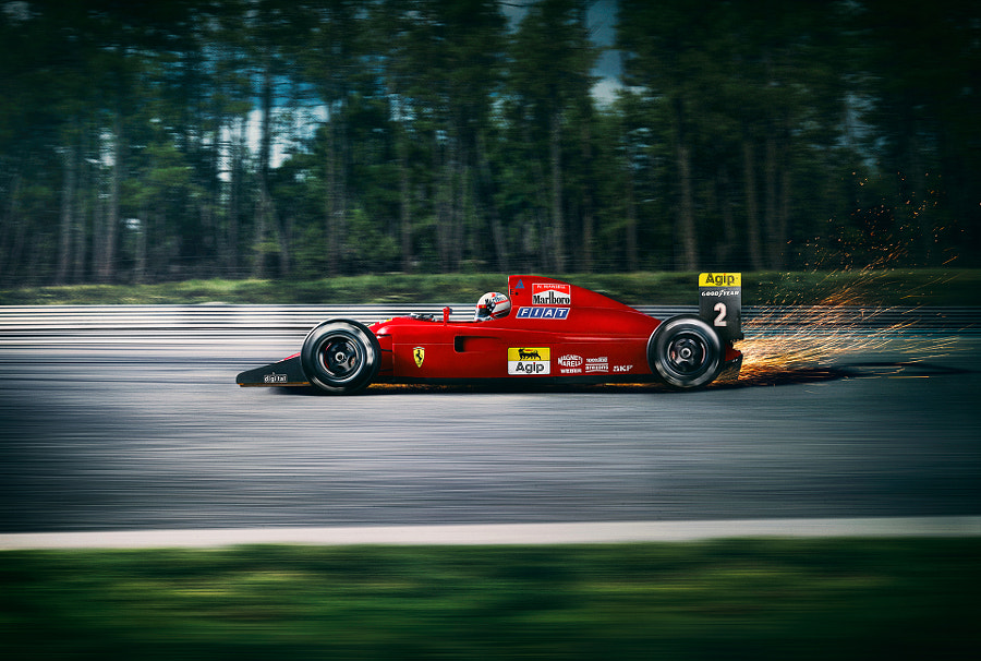 Ferrari F1 Car by Blair Bunting on 500px.com