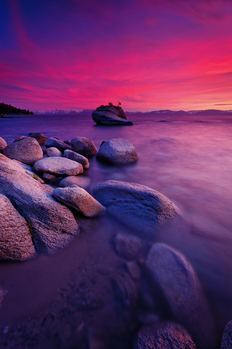 Photograph Lake Tahoe Sunset by Jeff Sullivan on 500px