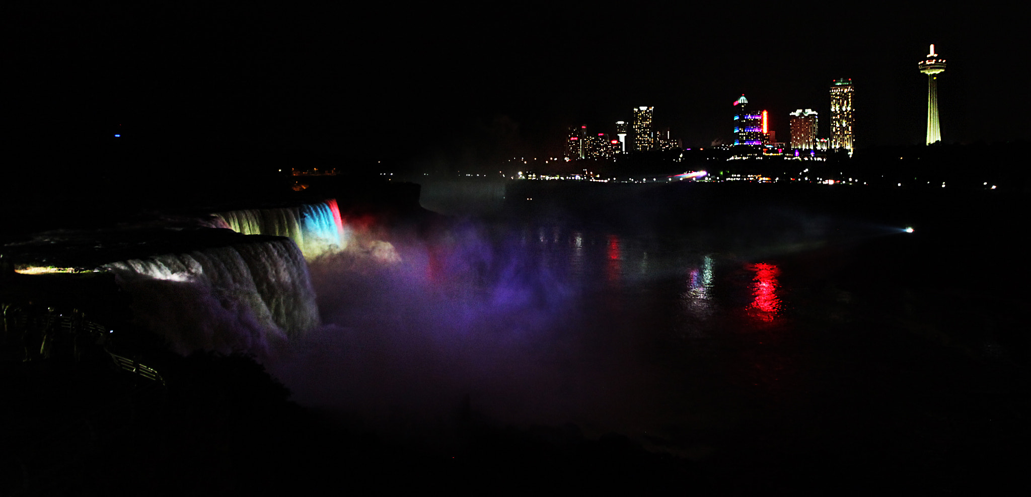 Photograph Night Niagara Falls by David Babayan on 500px
