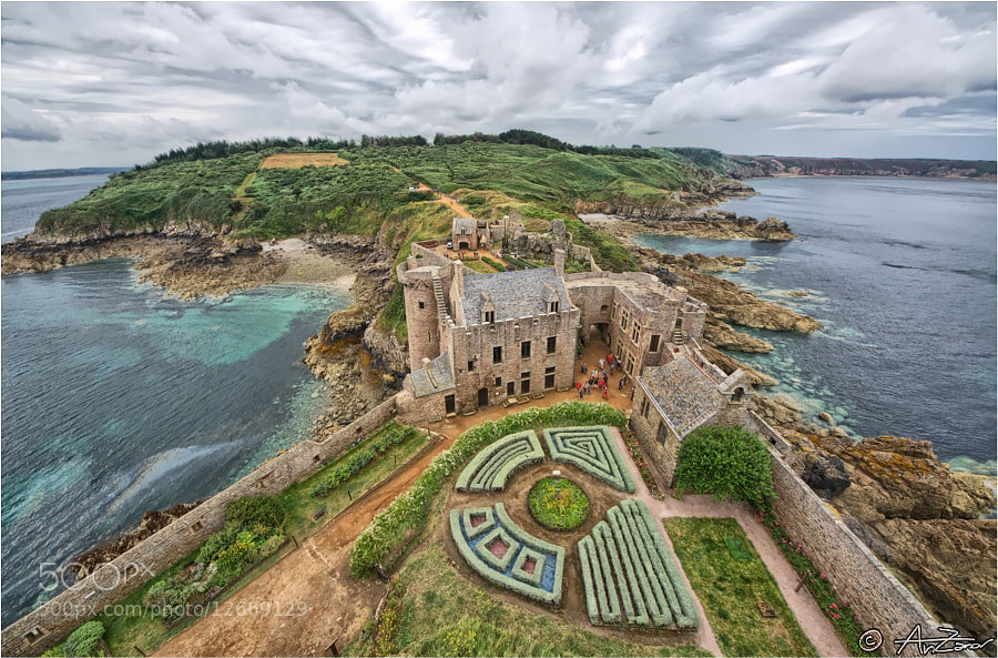 "Photograph Fort la Latte Bretagne HDR by Andrea ""AnZanov"" Zanovello on 500px"