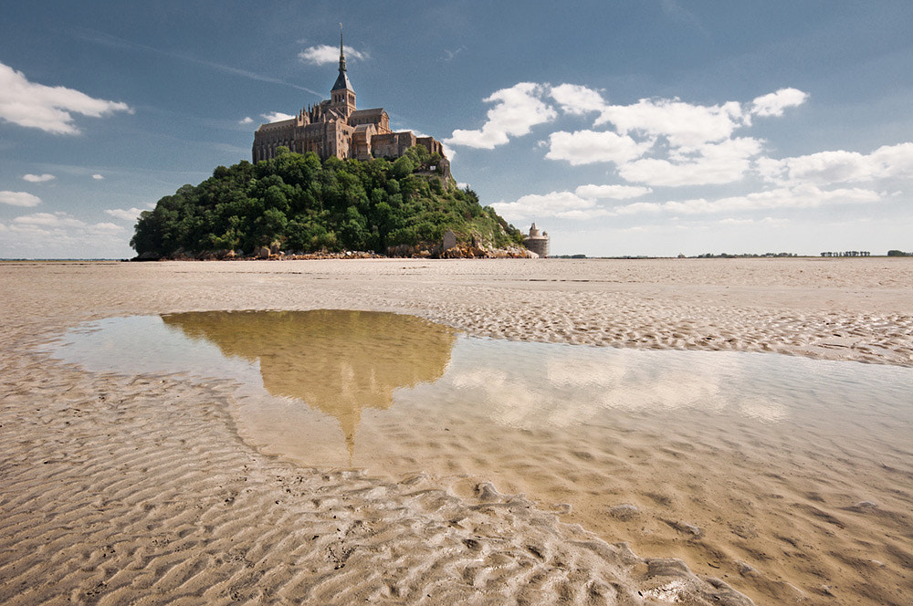 Photograph Le Mont-St.-Michel by Daniele Puliti on 500px