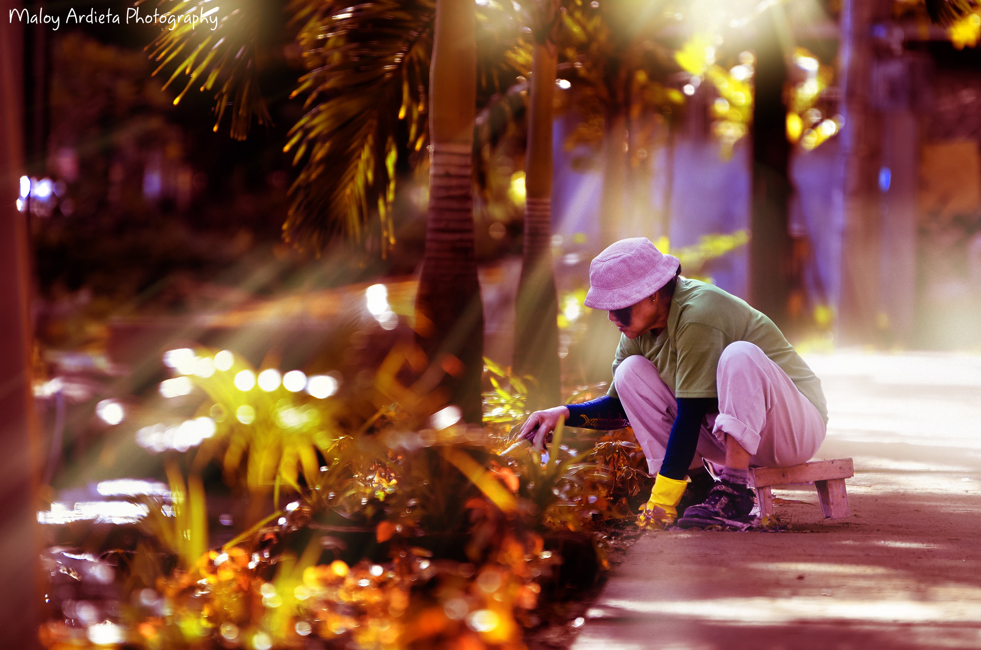 Photograph The Gardener ^_^ by Maloy Ardieta on 500px