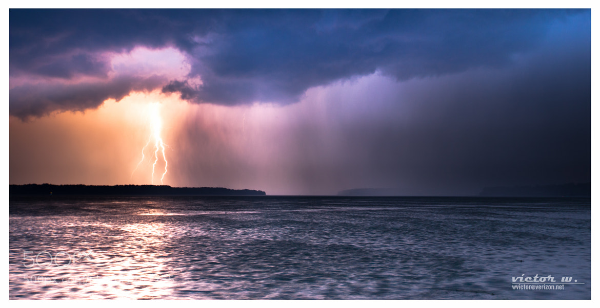 Photograph Storm at the Potomac River by Victor Wolansky on 500px