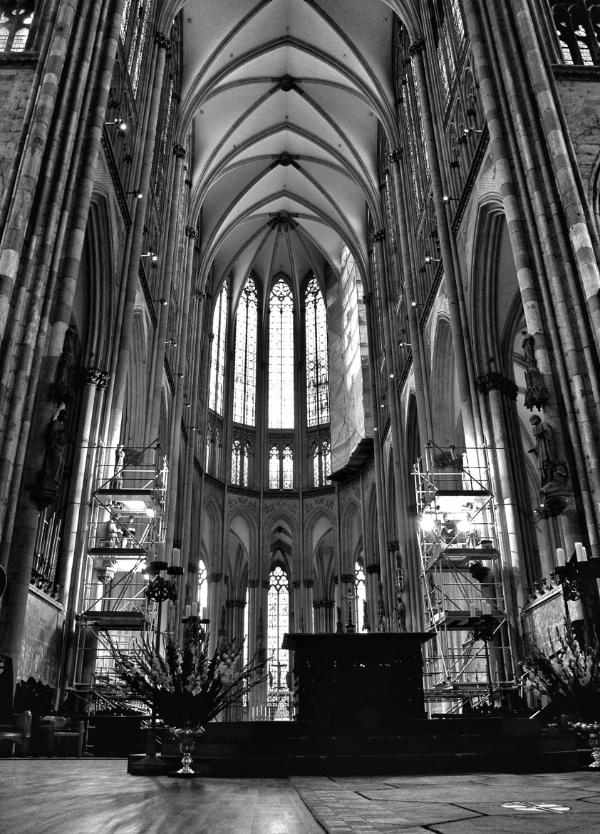 Photograph *A church from Köln* by Elif Energin on 500px