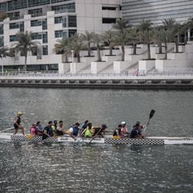 Canoe in Dubai