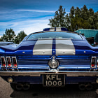 ������, ������: HDR Ford Mustang