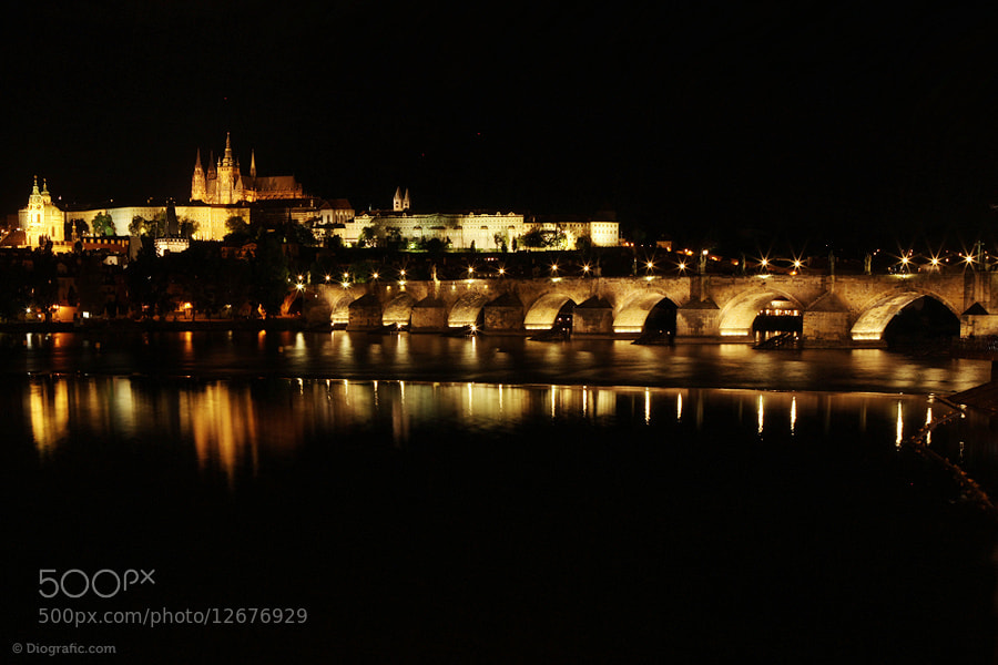 Photograph Praha night by Diogo Paulo on 500px