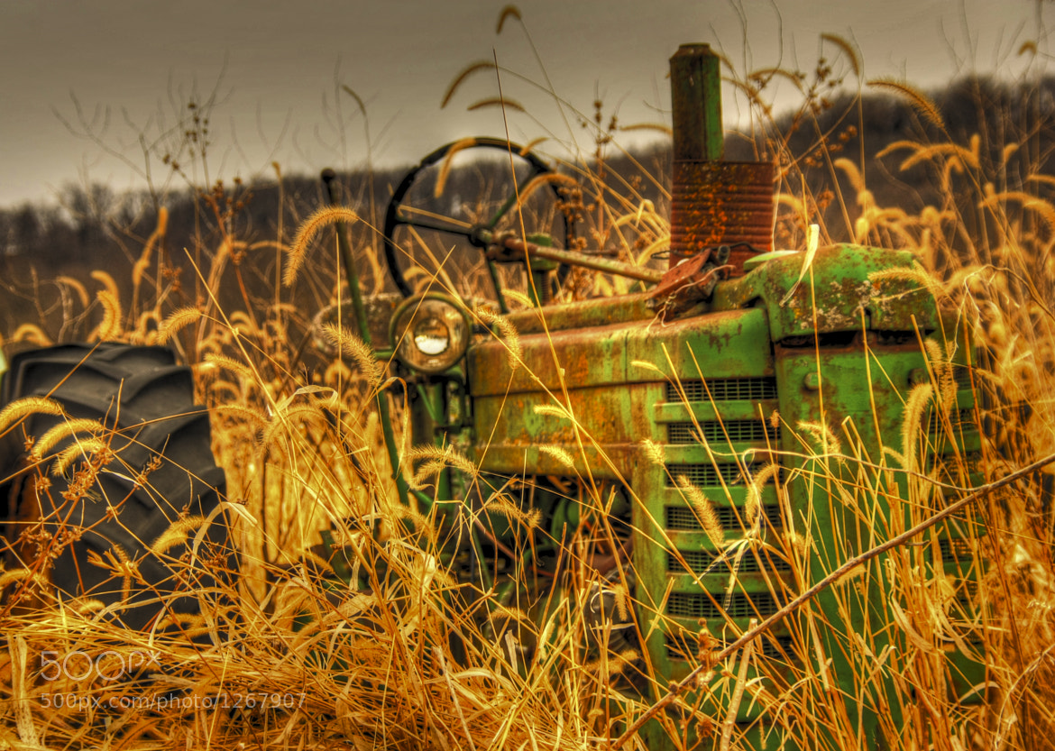 Photograph Old Deere by Robert Wood on 500px