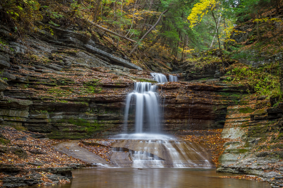 Buttermilk Falls 10 by Melissa Wilson on 500px.com