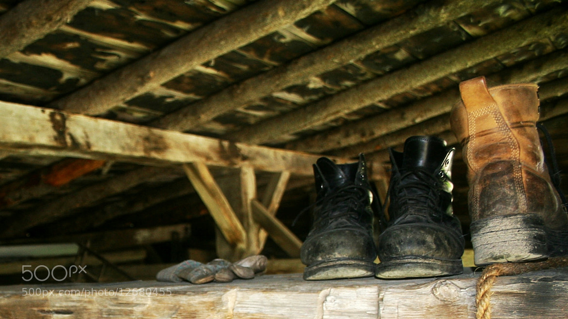 Photograph Boots at rest by Yves Grenier on 500px