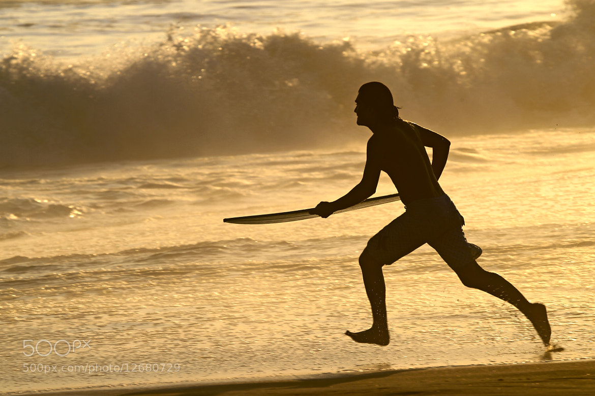 Photograph Surfer at sunset by Cristobal Garciaferro Rubio on 500px