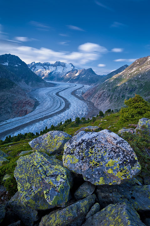 """Photograph Aletsch Glacier II by Roland """"Bill"""" Moser on 500px"""