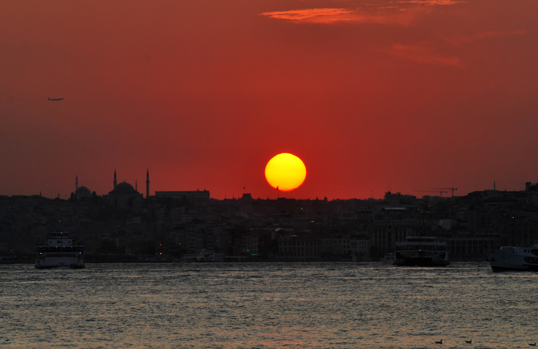 Photograph Sunset in Istanbul by Atakan Divitlioğlu on 500px