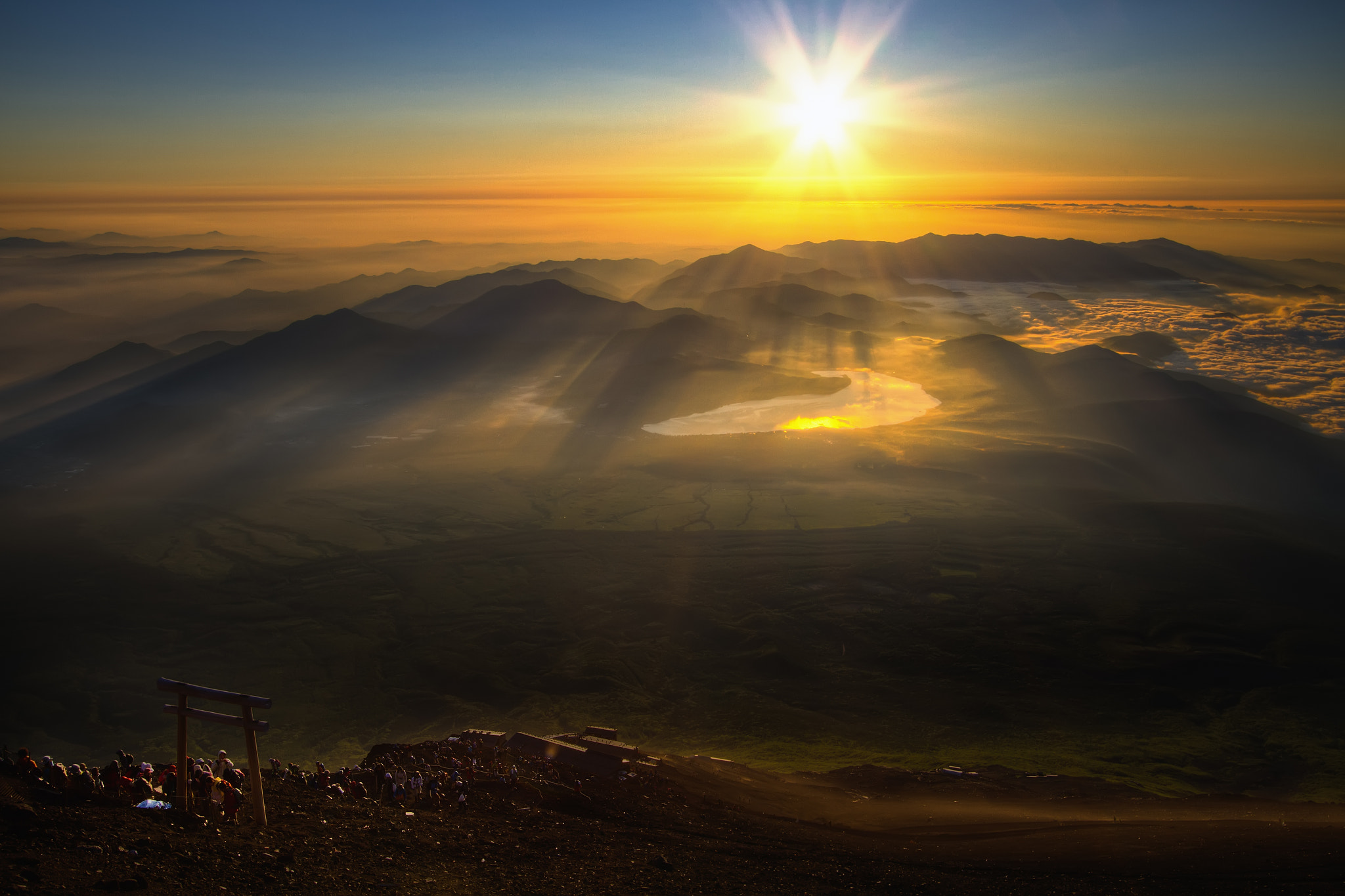 Photograph Eternal Sunrise From Mt. Fuji by Agustin Rafael Reyes on 500px