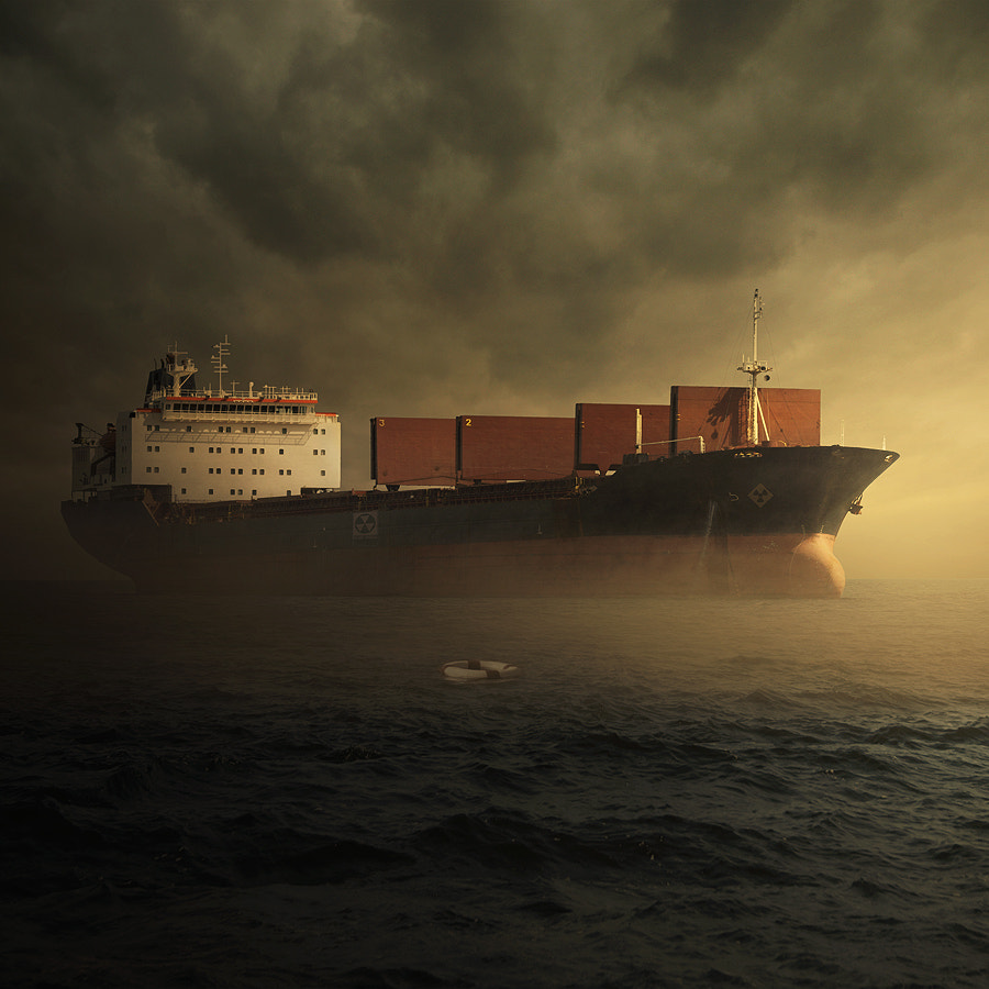 Photograph Toxic ship by Tomasz  on 500px