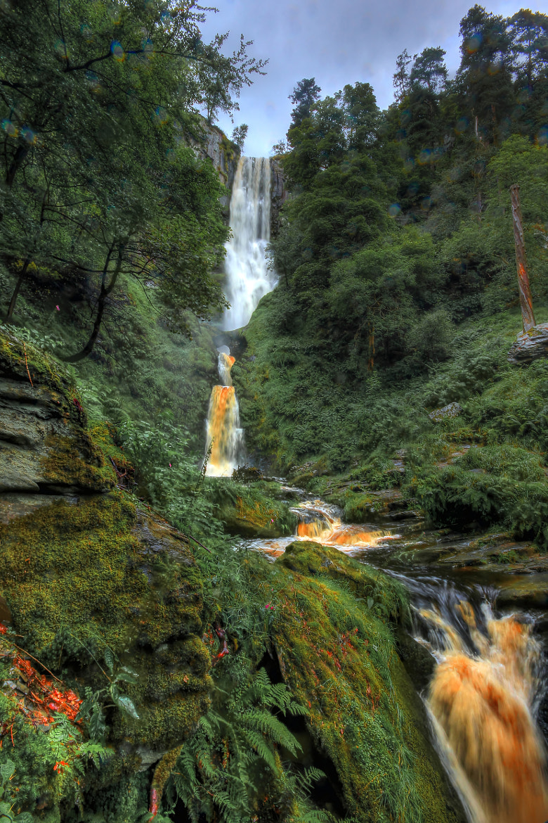 Photograph Head on Water Fall by Tony Jones on 500px