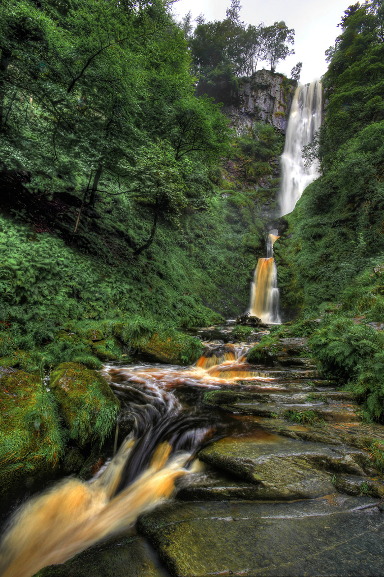 Photograph My First Waterfall by Tony Jones on 500px