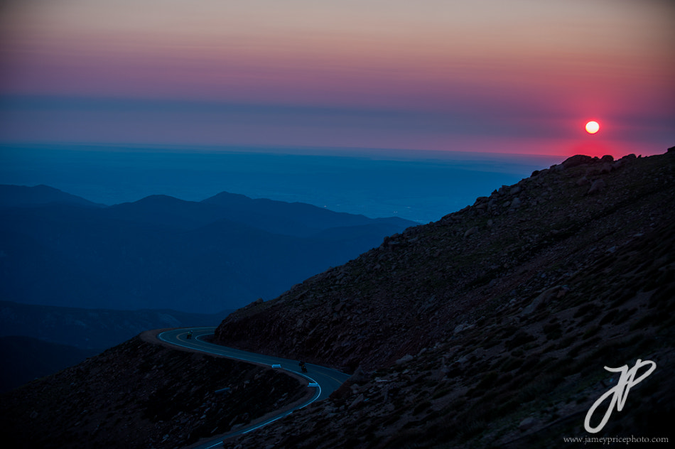 Photograph Sunrise at Pikes Peak by Jamey Price on 500px