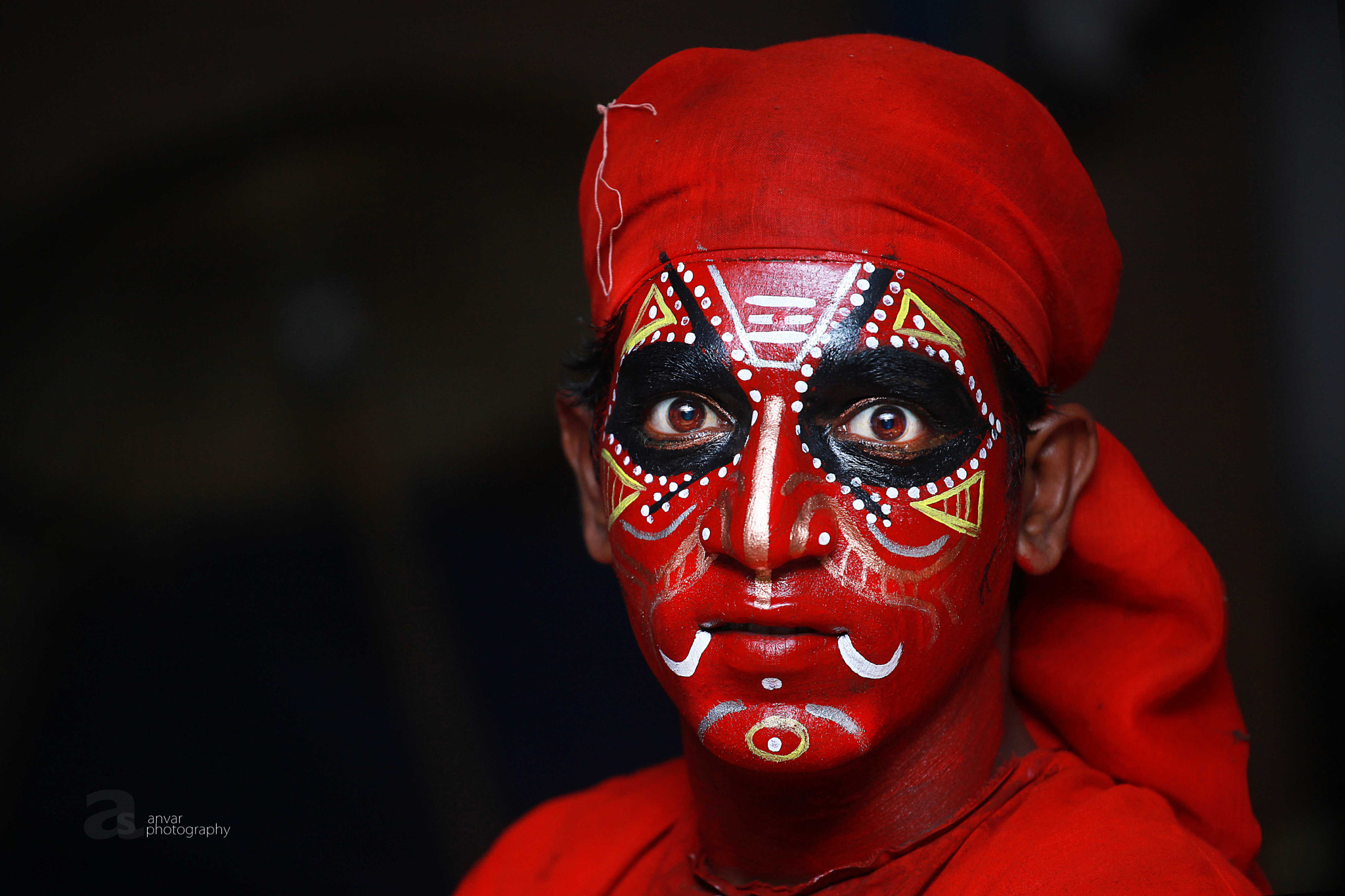 Photograph theyyam artist....  by Anvar Sadath on 500px