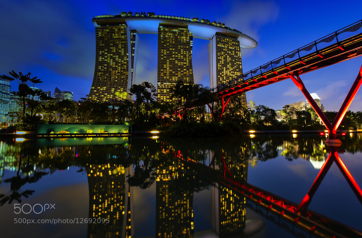 Photograph marina bay singapore by hamni juni on 500px