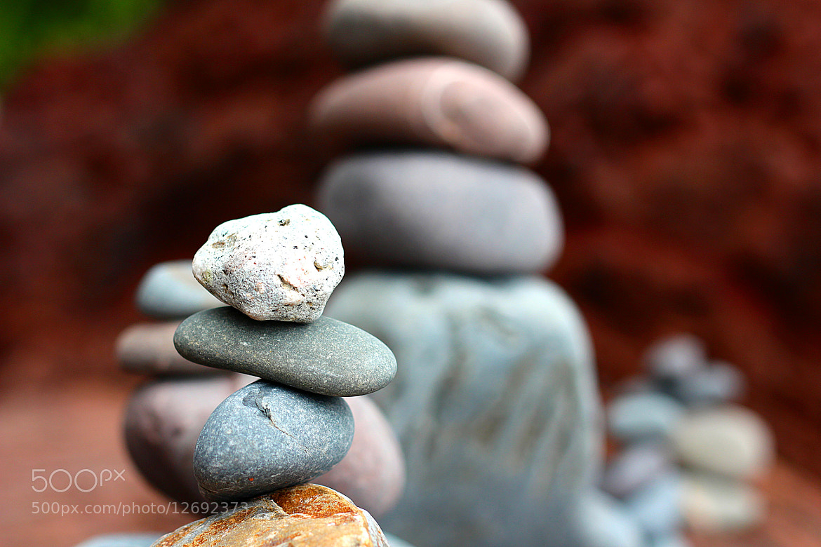 Photograph Pebble Stack by Sam Barnwell on 500px