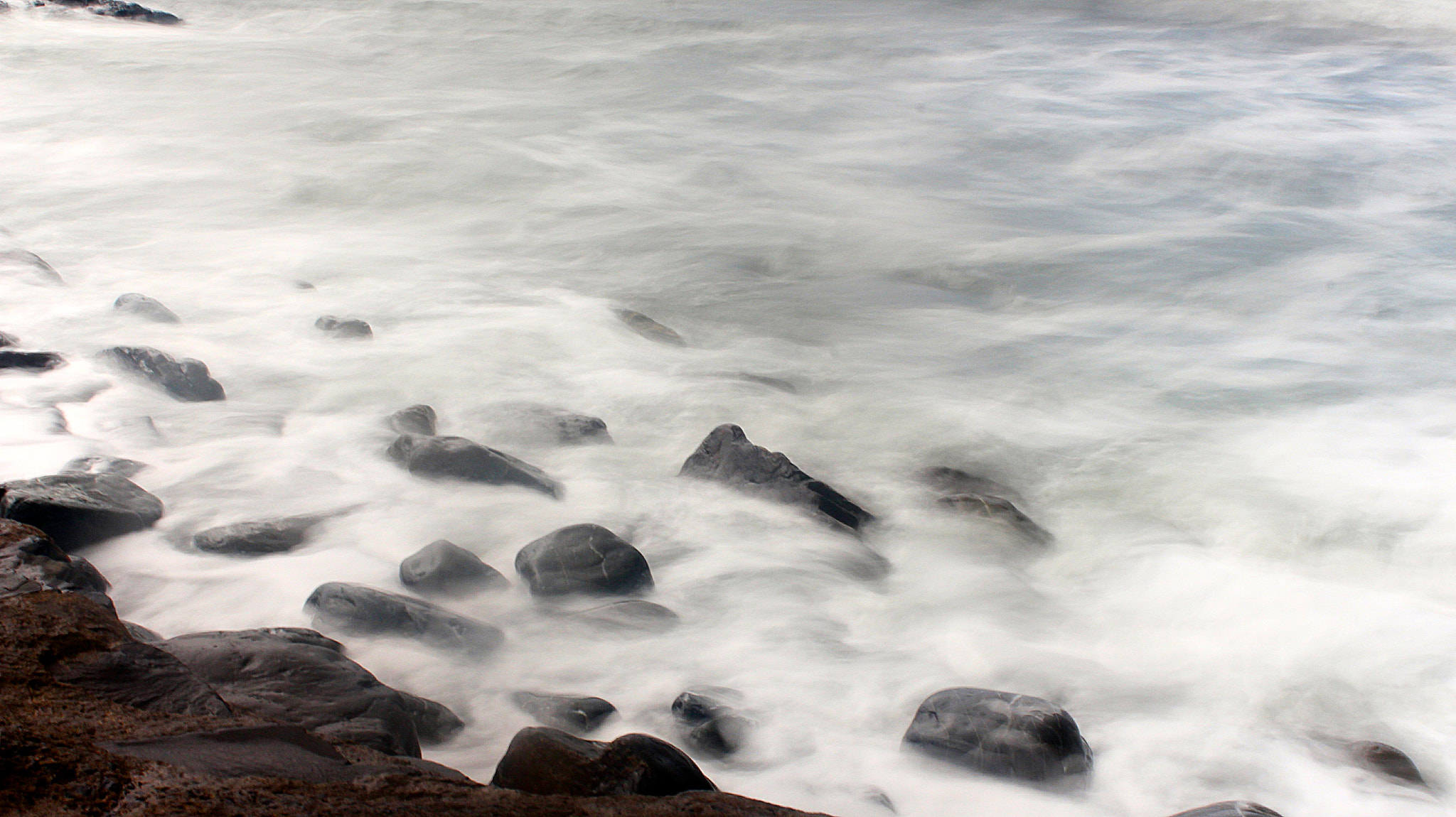 Photograph Pebbles and Waves by Sam Barnwell on 500px