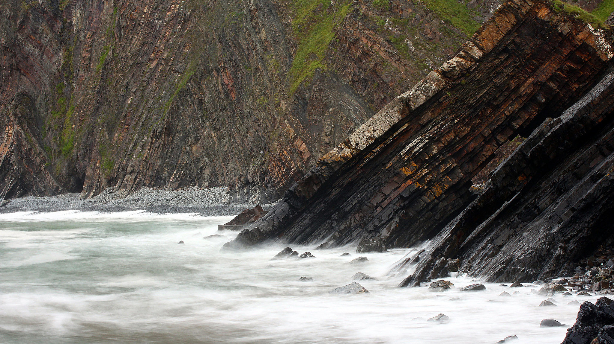 Photograph Cliffs and the Waves by Sam Barnwell on 500px