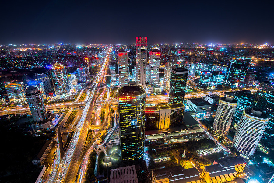 Here is Beijing by Hank Wang on 500px.com