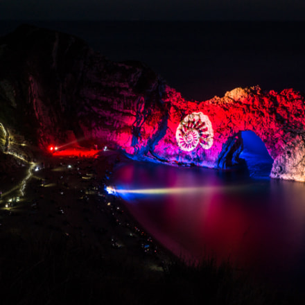 Night Of Heritage Light - Durdle Door
