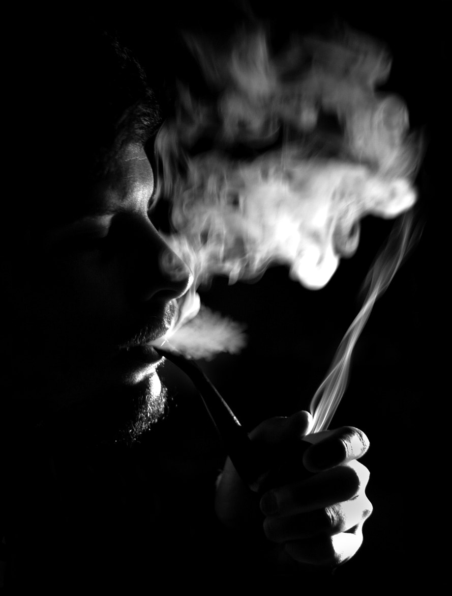 Photograph Smoking ... like in the old times by Evie Laoun C on 500px