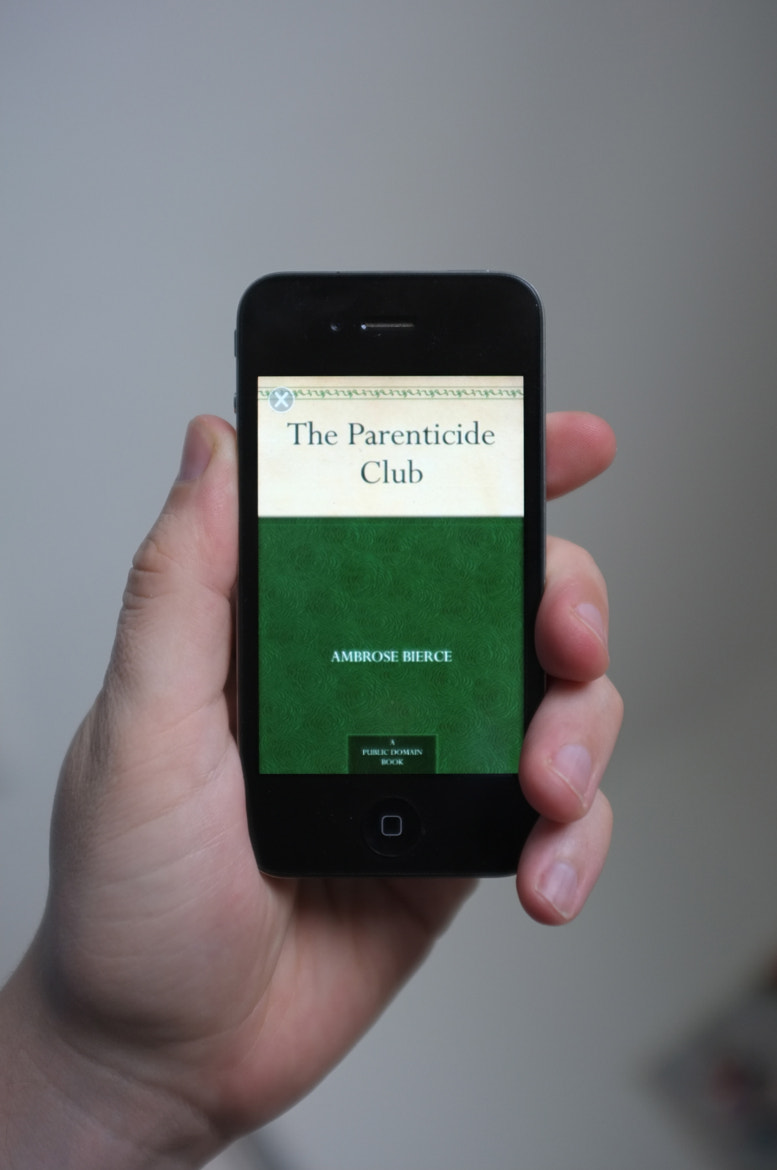 Photograph The Parenticide Club by Ambrose Bierce by Alan Trotter on 500px