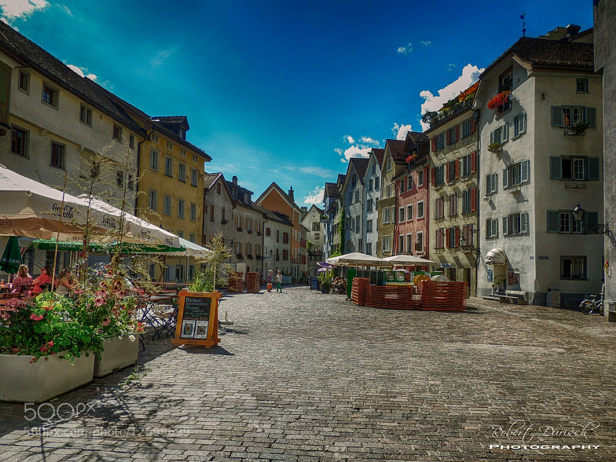 Photograph Look into the old town by Robert Durisch on 500px