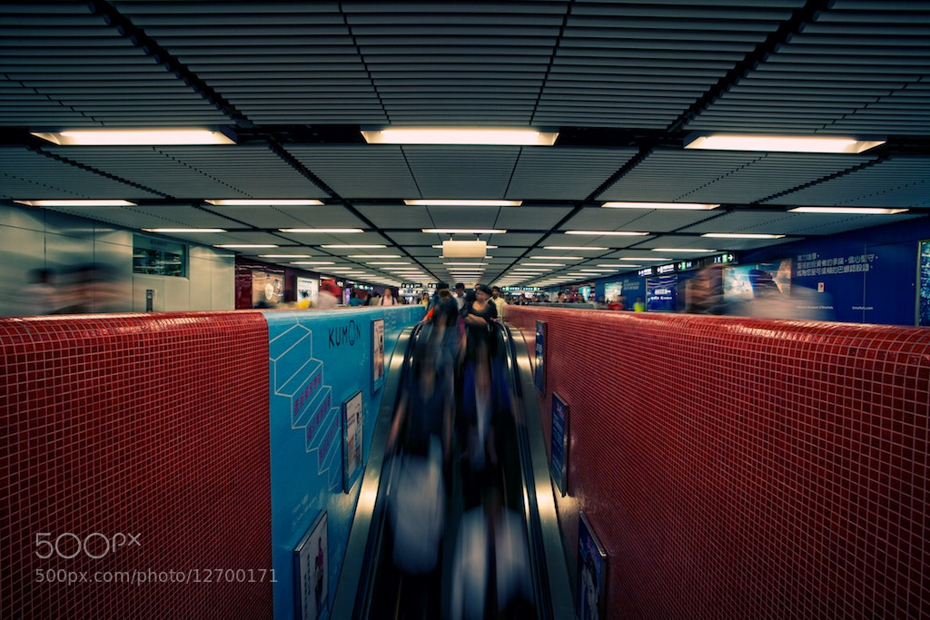 Photograph Hong Kong Subway by Ren Bostelaar on 500px
