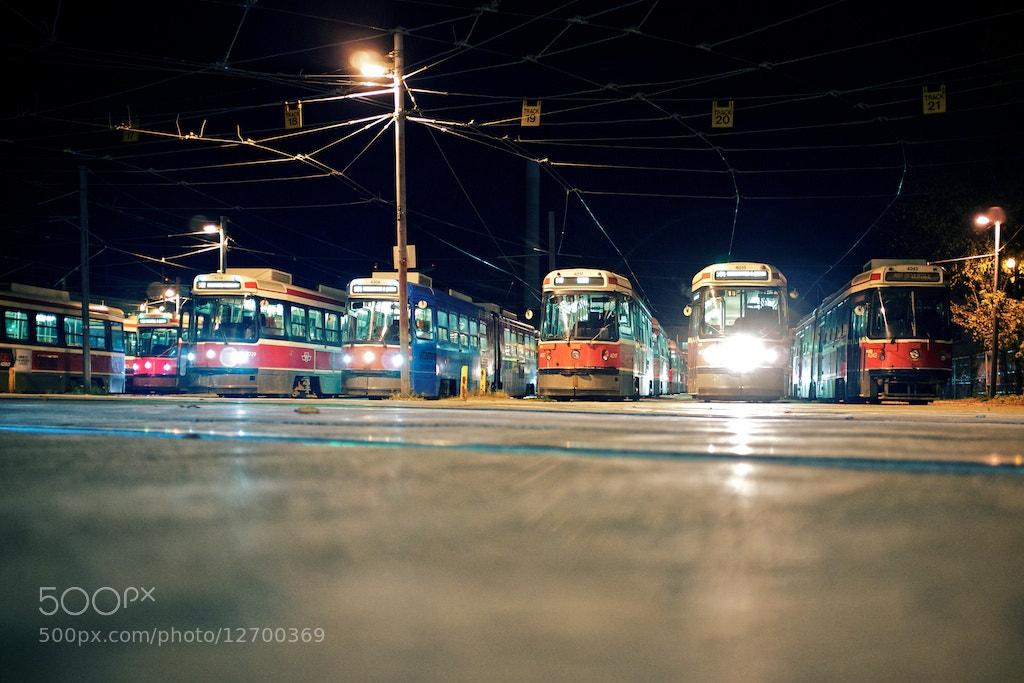 Photograph Streetcars by Ren Bostelaar on 500px