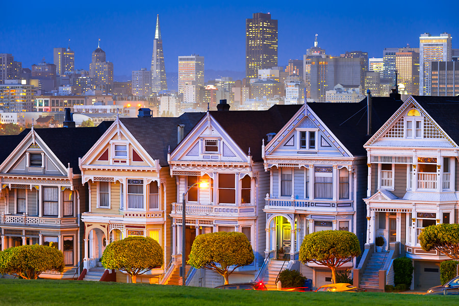 Photograph Alamo Square Park by Roman Dmytrenko on 500px