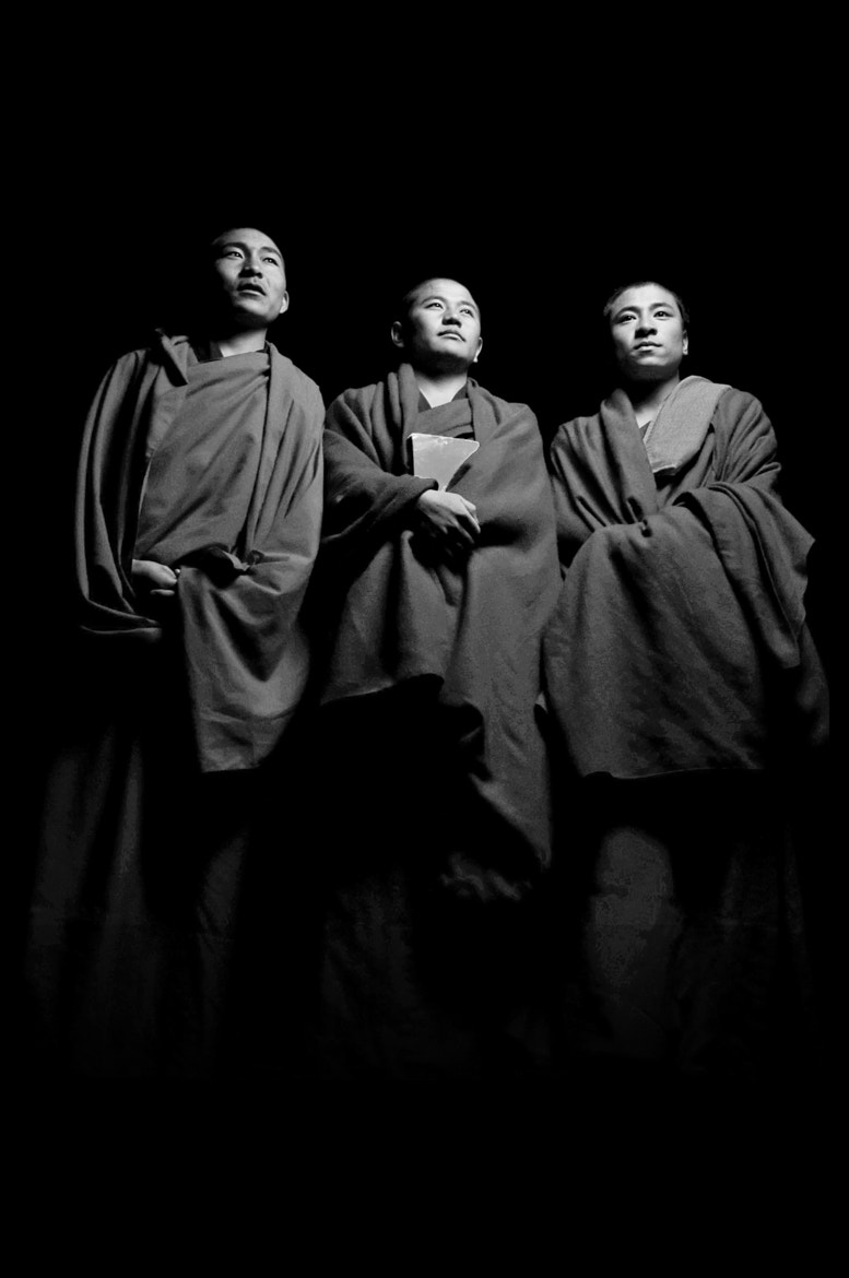 Photograph Three Monks by Brian Hirschy on 500px