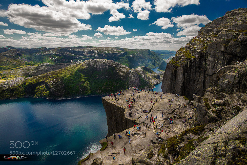 Photograph Preikestolen  by Andrew Cawa on 500px