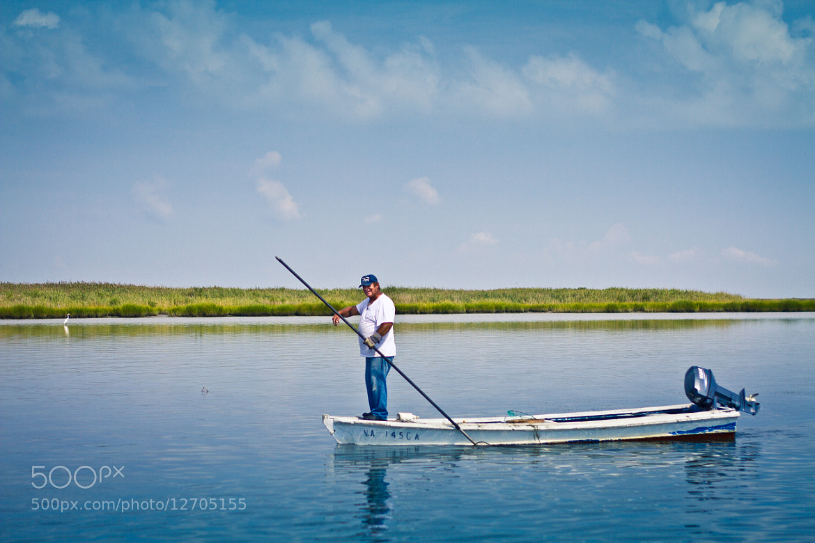 Photograph Tangier Island Waterman by Kelsey Freeman on 500px