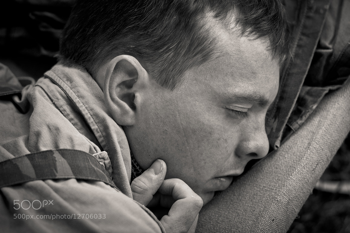 Photograph Marc, asleep. by Kelsey Freeman on 500px