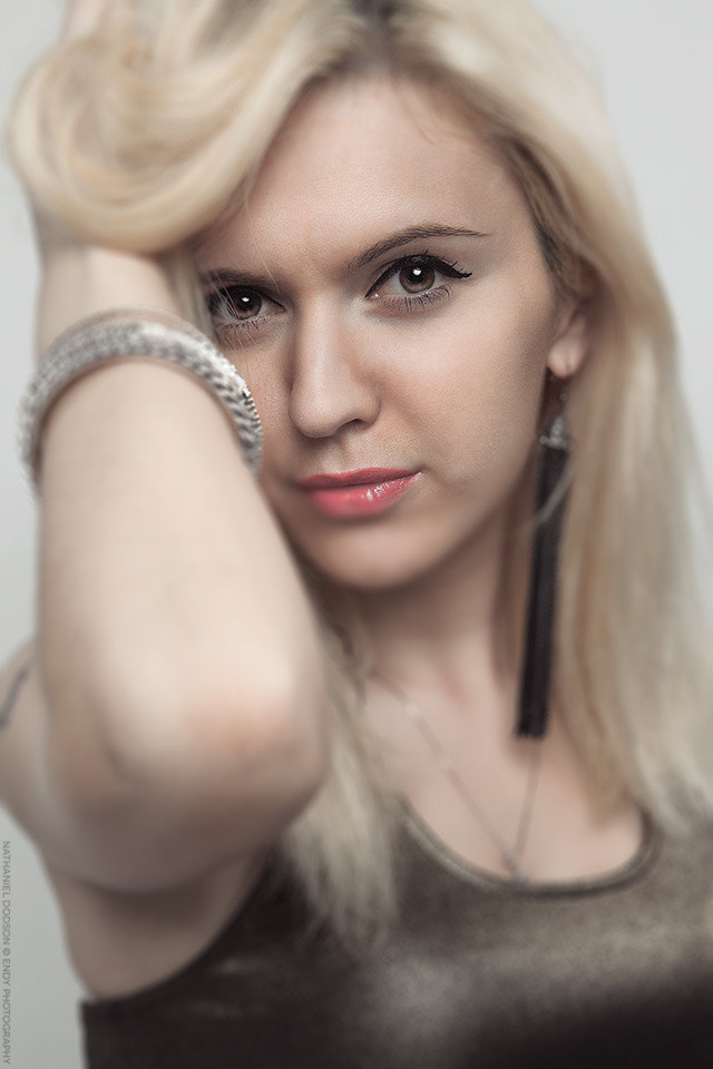 Photograph Russian Beauty Head Shot by Nathaniel Dodson on 500px