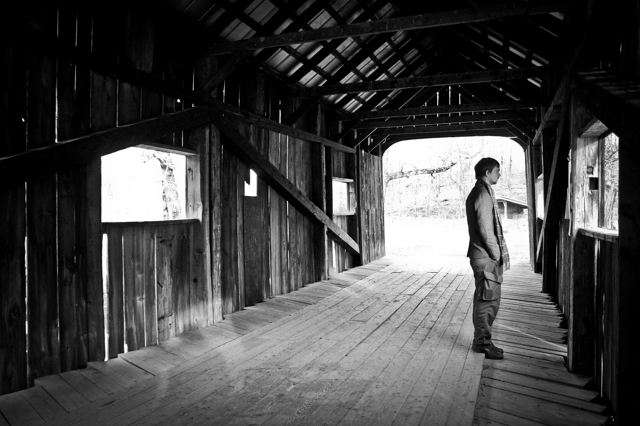 Photograph Covered Bridge by Kelsey Freeman on 500px