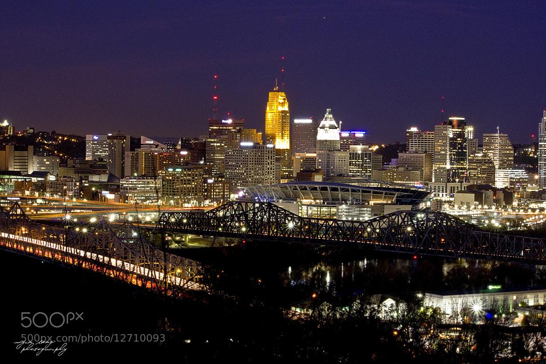 Photograph Cincinnati Skyline by R Long on 500px