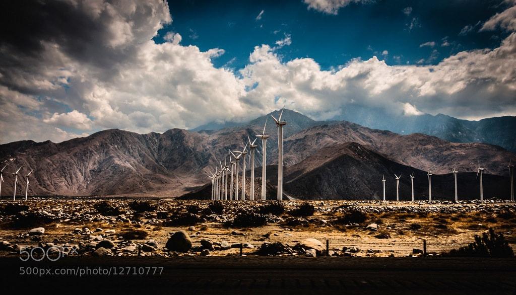 Photograph Desert Energy  by Bill Dickinson on 500px