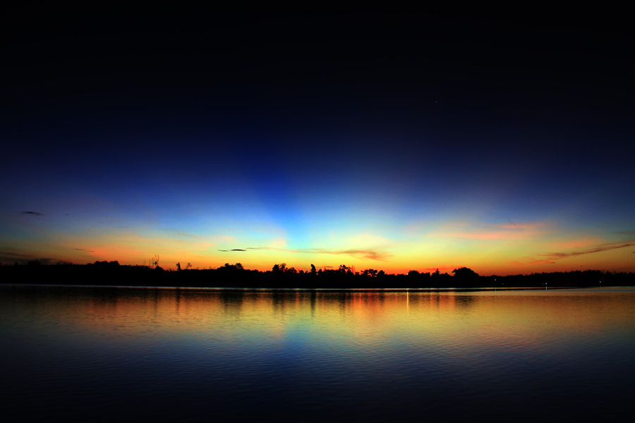 "Photograph ""No POI SunRise"" by Haris Putra on 500px"