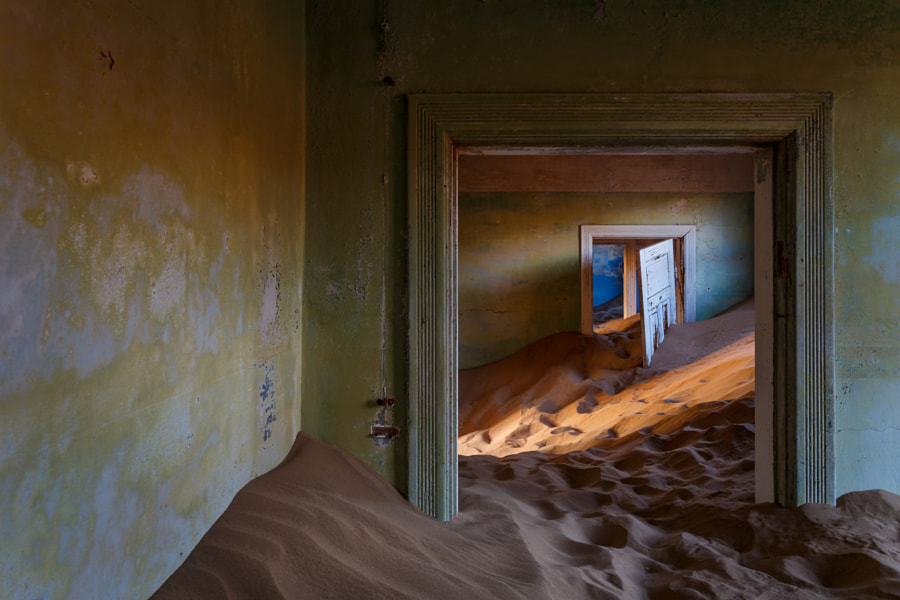 Kolmanskop beauty by Michael Dessagne on 500px.com