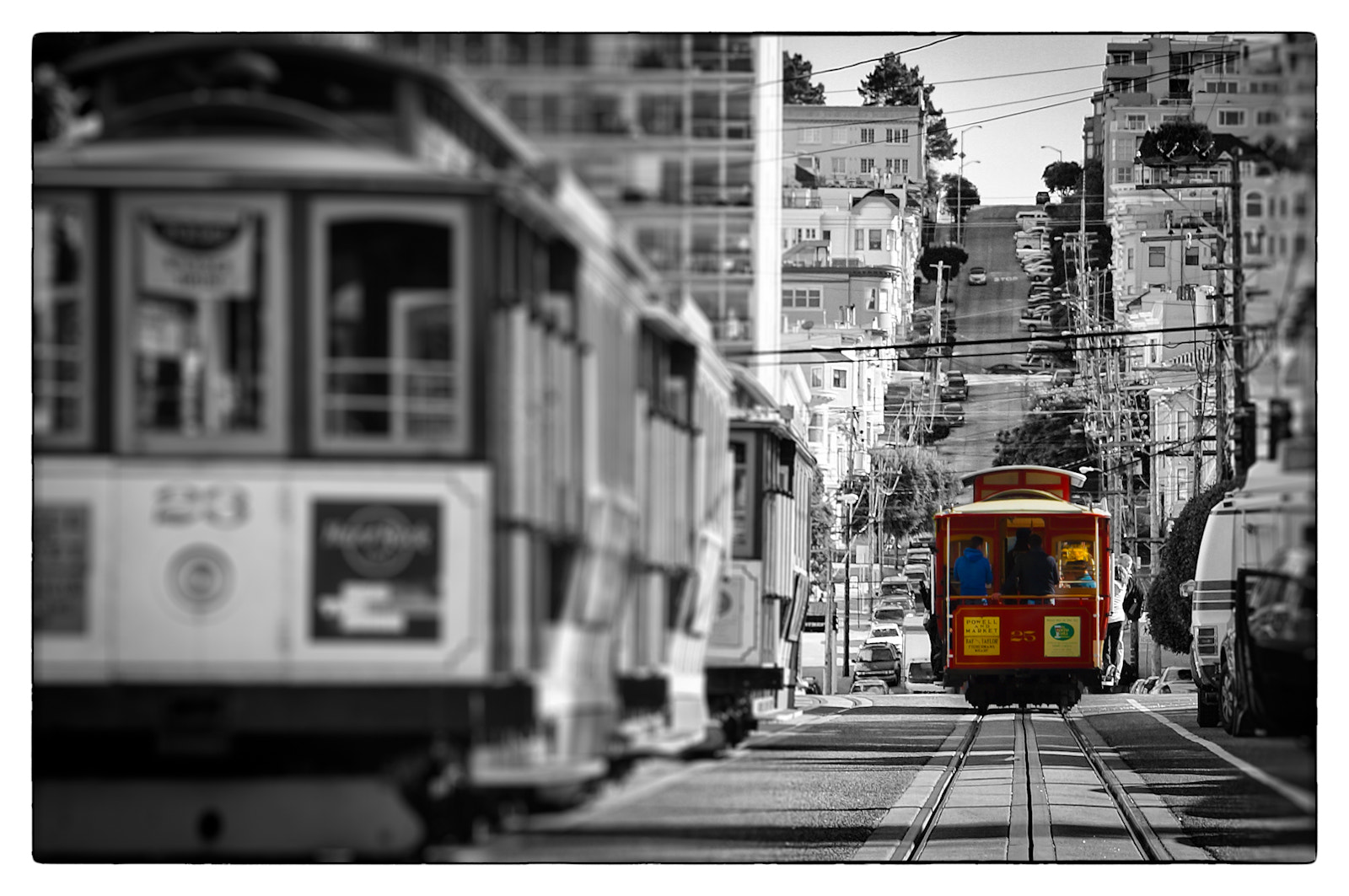 Photograph San Francisco cable car by Marcus Câmara on 500px