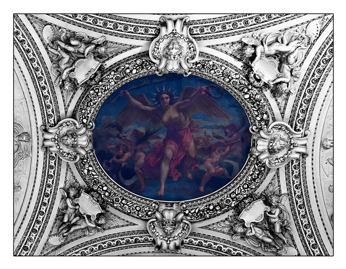 Photograph .louvre ceiling painting. by Meadow Hill Photography on 500px