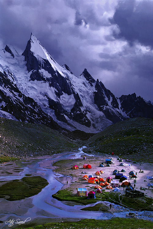 Photograph Camp Village.. by Atif Saeed on 500px