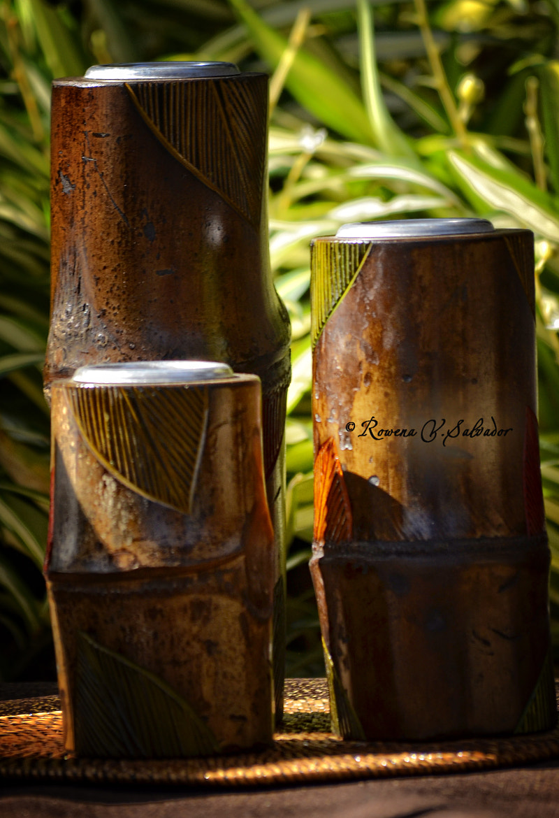 Photograph bamboo candle holder by Rowena V Salvador on 500px