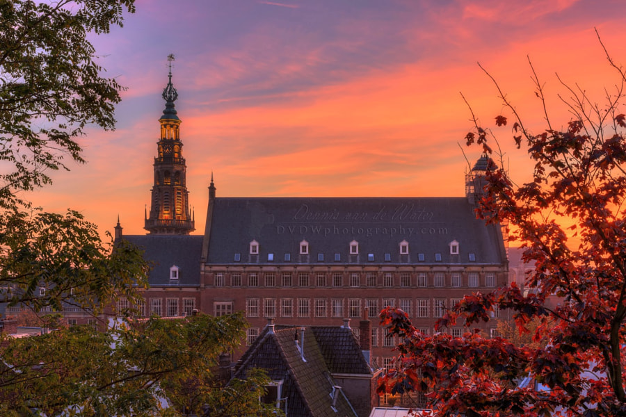 Leiden Cityhall by Dennis van de Water on 500px.com